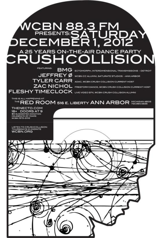Crush Collision 25th Anniversary Dance Party