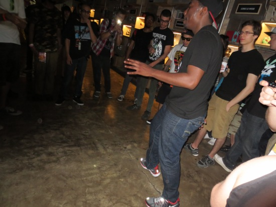 Footwork dancing @ Teklife party
