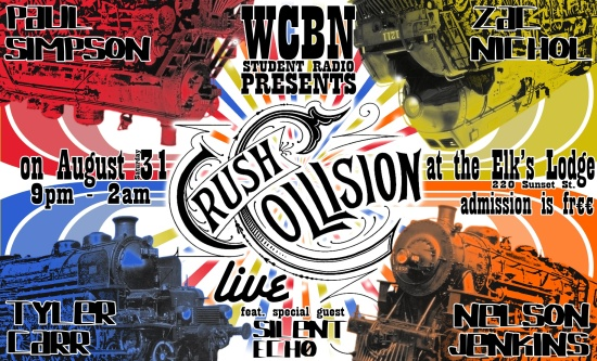 Crush Collision @ Elk's Lodge 8/31/13