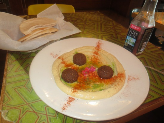 Falafel and hummus @ Chick Pea