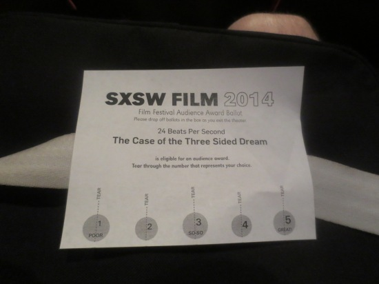 Ballot for The Case Of The Three Sided Dream