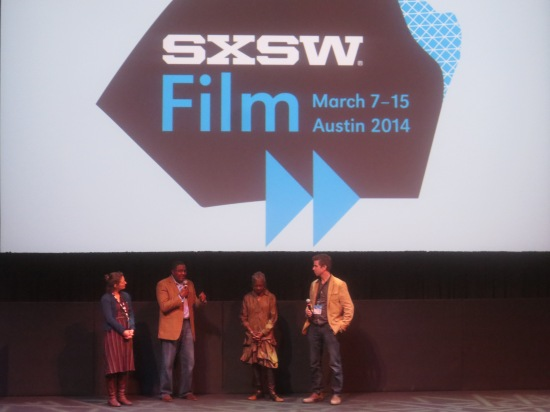 Rahsaan Roland Kirk's family, the director of the film, and a SXSW film presenter