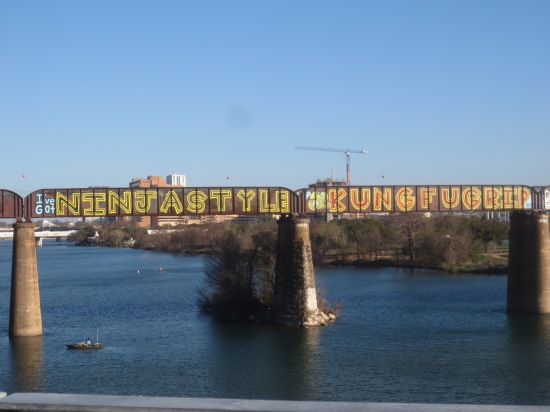 Bridge graffitti