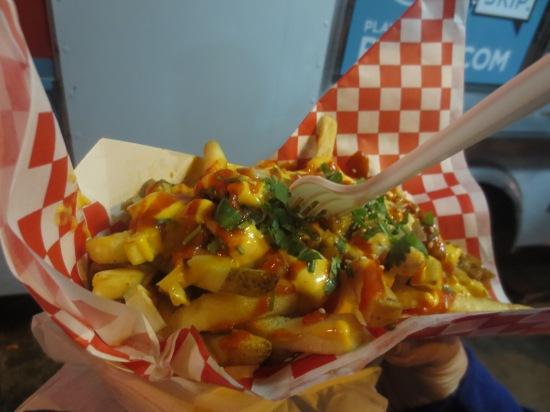 Kimchi fries from Chi'lantro