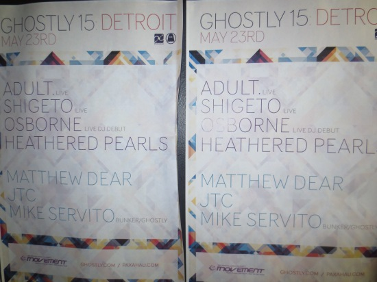 Ghostly 15 posters