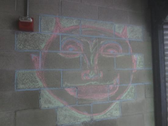 chalk face