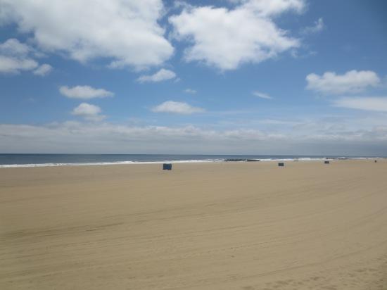 the beach @ Asbury Park