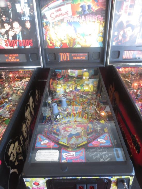 Simpsons Pinball Party @ Silver Ball Museum, Asbury Park, NJ