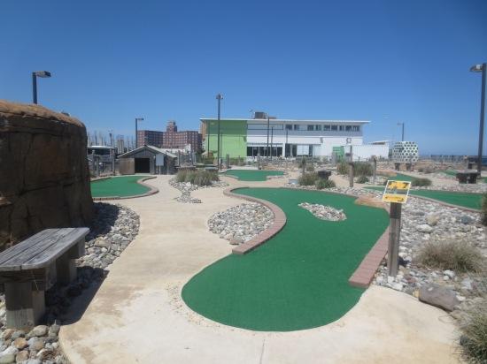 mini golf @ Asbury Park, NJ