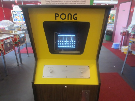 Pong @ Silver Ball Museum