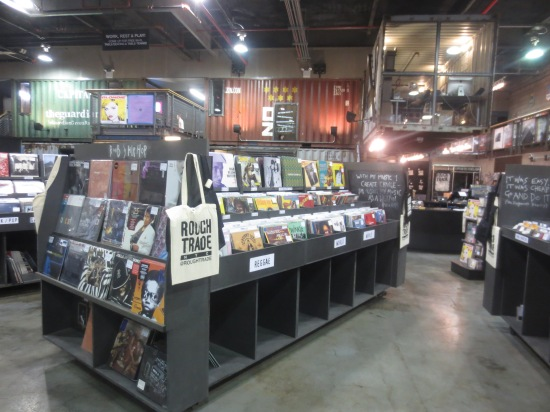 Rough Trade store, Williamsburg