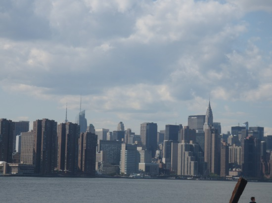 East River/Manhattan skyline from Williamsburg