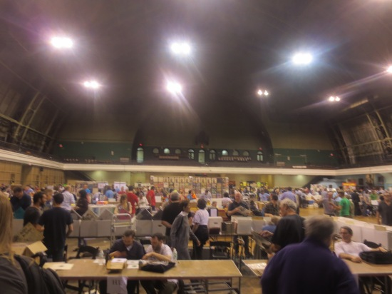 WFMU Record Fair @ 69th Regiment Armory, NYC