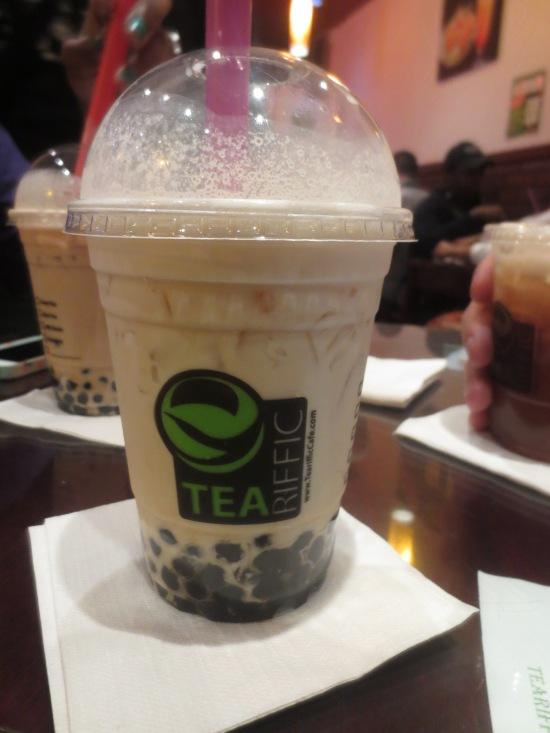 bubble tea @ Teariffic