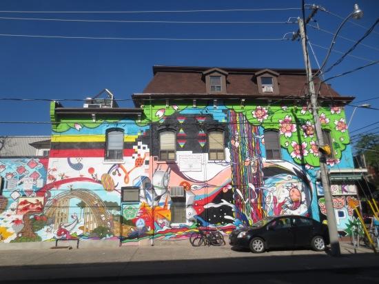 crazy street art
