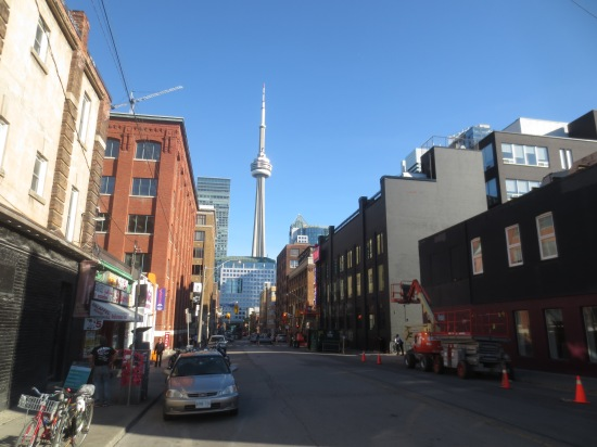 great view of the CN Tower