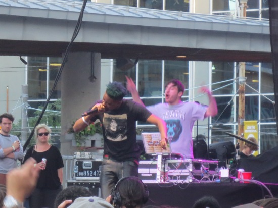 Danny Brown @ Yonge Dundas Square