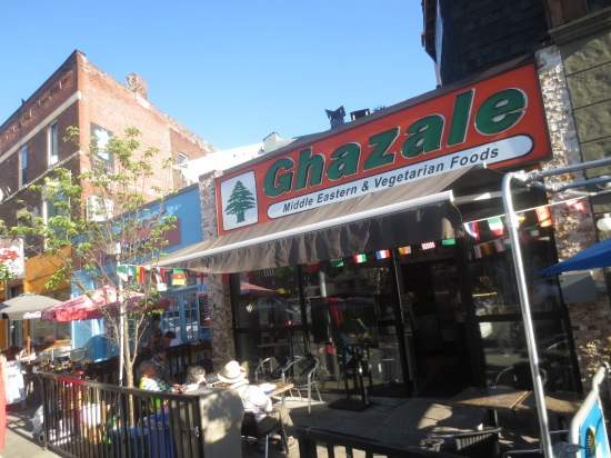 Ghazale (best falafel I've ever eaten)