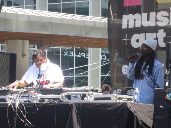 DJ Fusion & Ausar Ra Black Hawk (FuseBox Radio Broadcast) @ Yonge Dundas Square