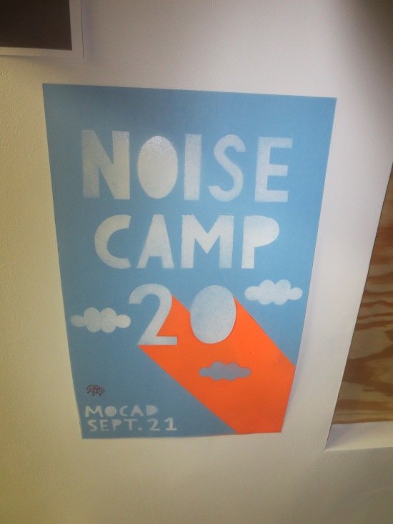 Noise Camp poster