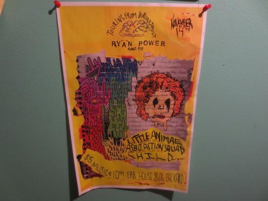 flyer art by Josh Hedges