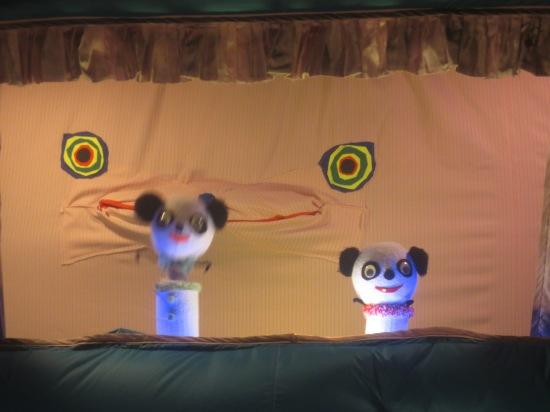 Miss Pussycat's puppet show