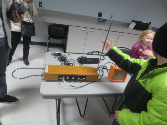 theremin demonstration