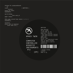 Aphex Twin: Computer Controlled Acoustic Instruments Pt2 (EP)