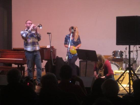 Molly Jones and friends (Kirsten Carey on guitar)