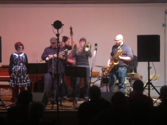 James Cornish and friends (Sara Grosky on vocals)