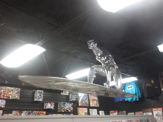Silver Surfer inside Austin Books & Comics