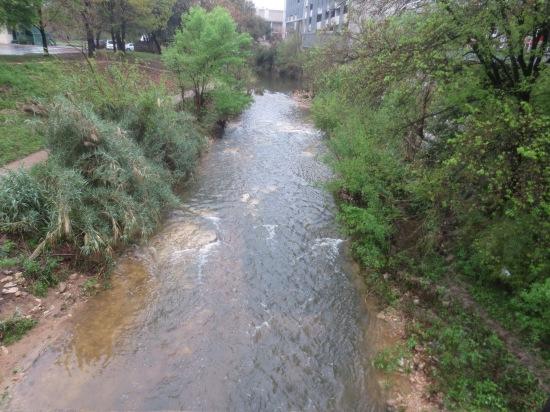 rainy river on 6th St.