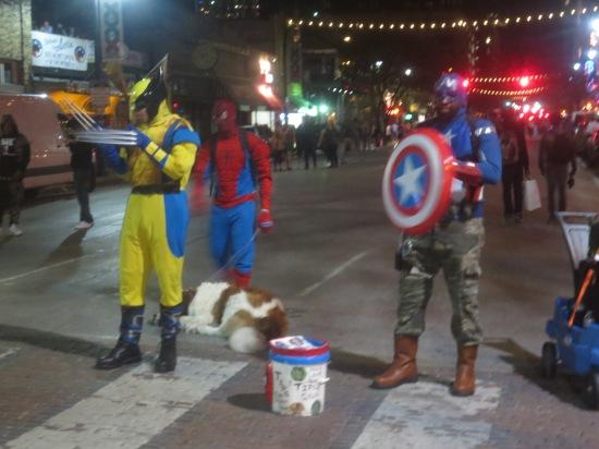 superheroes on 6th St.