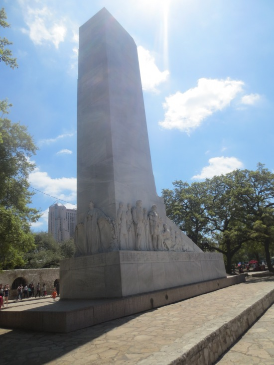 monument near the Alamo