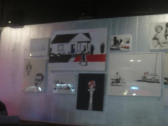 current art exhibit @ UFO Factory