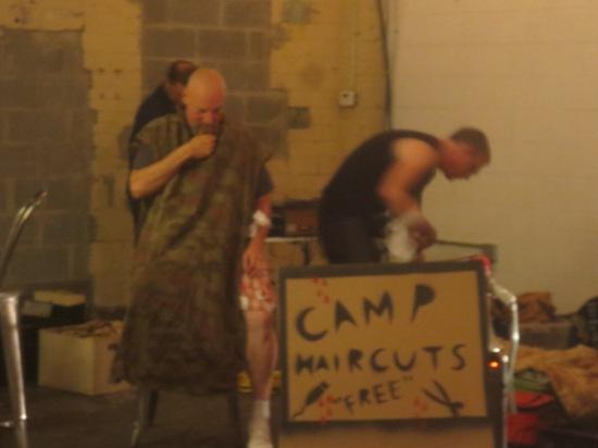 camp haircuts (free)
