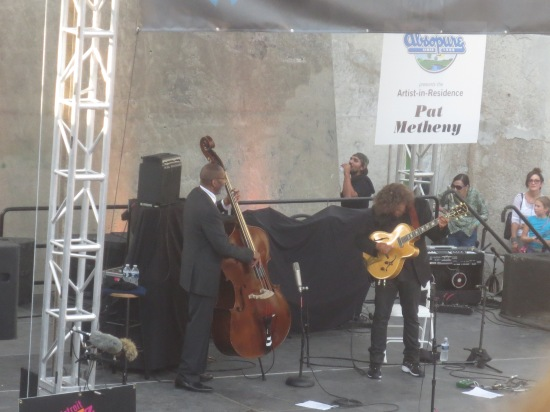 Ron Carter and Pat Metheny