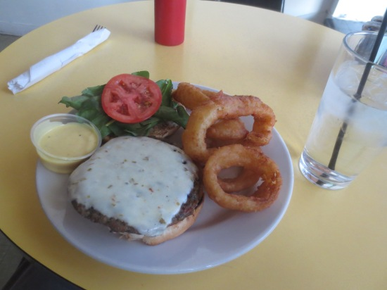 Lentil Burger @ Cass Cafe