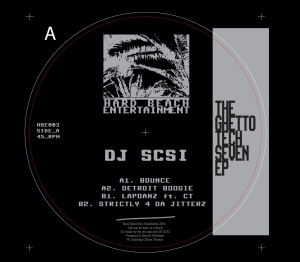 DJ SCSI: The Ghetto Tech Seven EP 12""