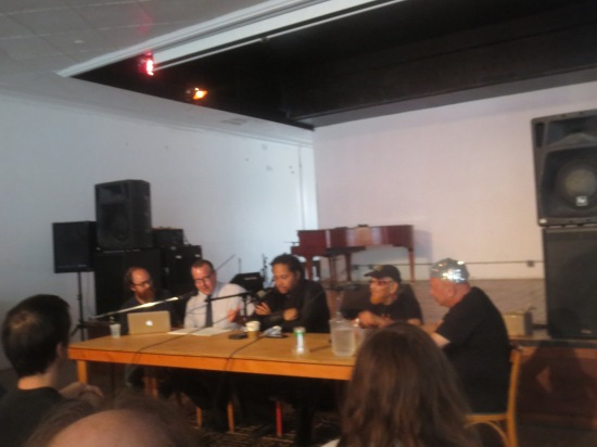 Hieroglyphic Being, Marshall Allen, and Danny Ray Thompson in conversation
