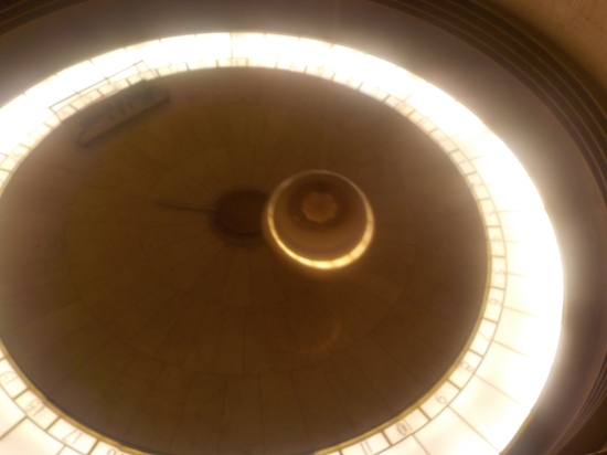 pendulum inside the observatory