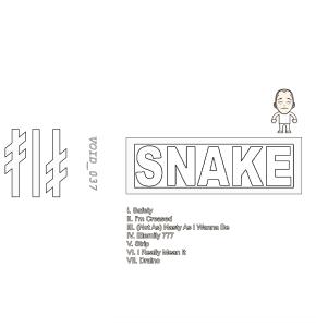 Fish Narc: Fish Snake Narc tape