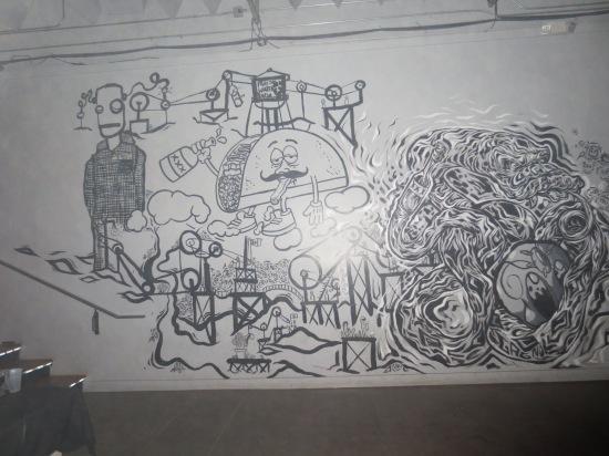 wall art @ El Club