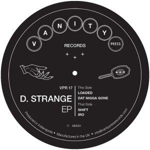 """D. Strange: EP 12"""""""